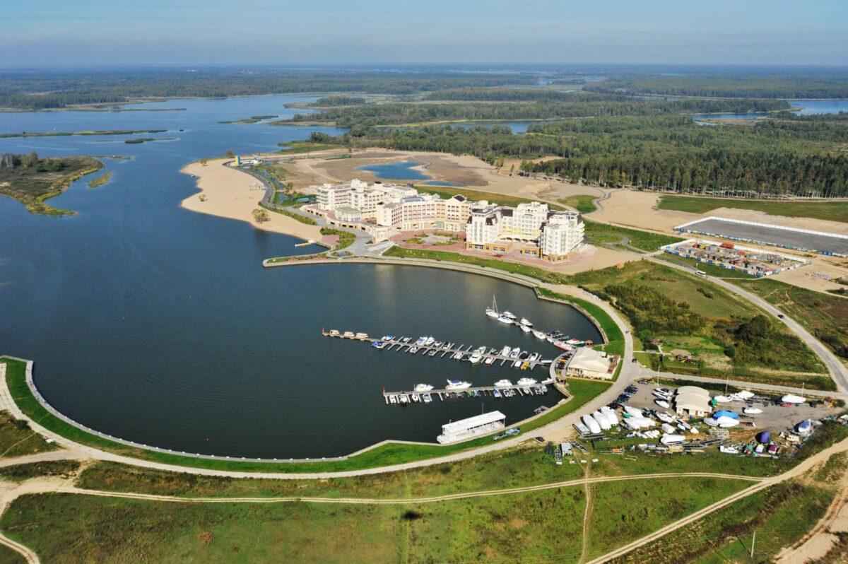 В Завидово идёт строительство роскошного речного порта