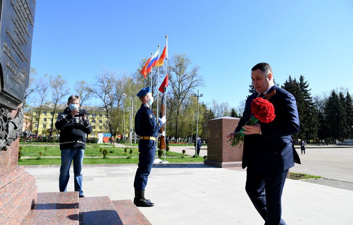 Во все районы Тверской области отправились Флаги Победы