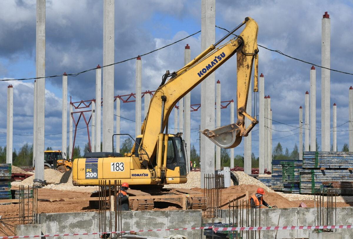 Под Тверью начали строить гигантский склад для запчастей ВАЗа