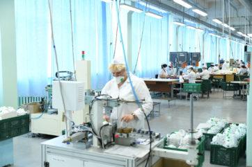 Новое производство медицинских респираторов запустили в Тверской области