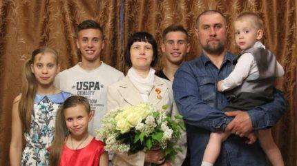 Тверская семья Новиковых удостоена государственных наград