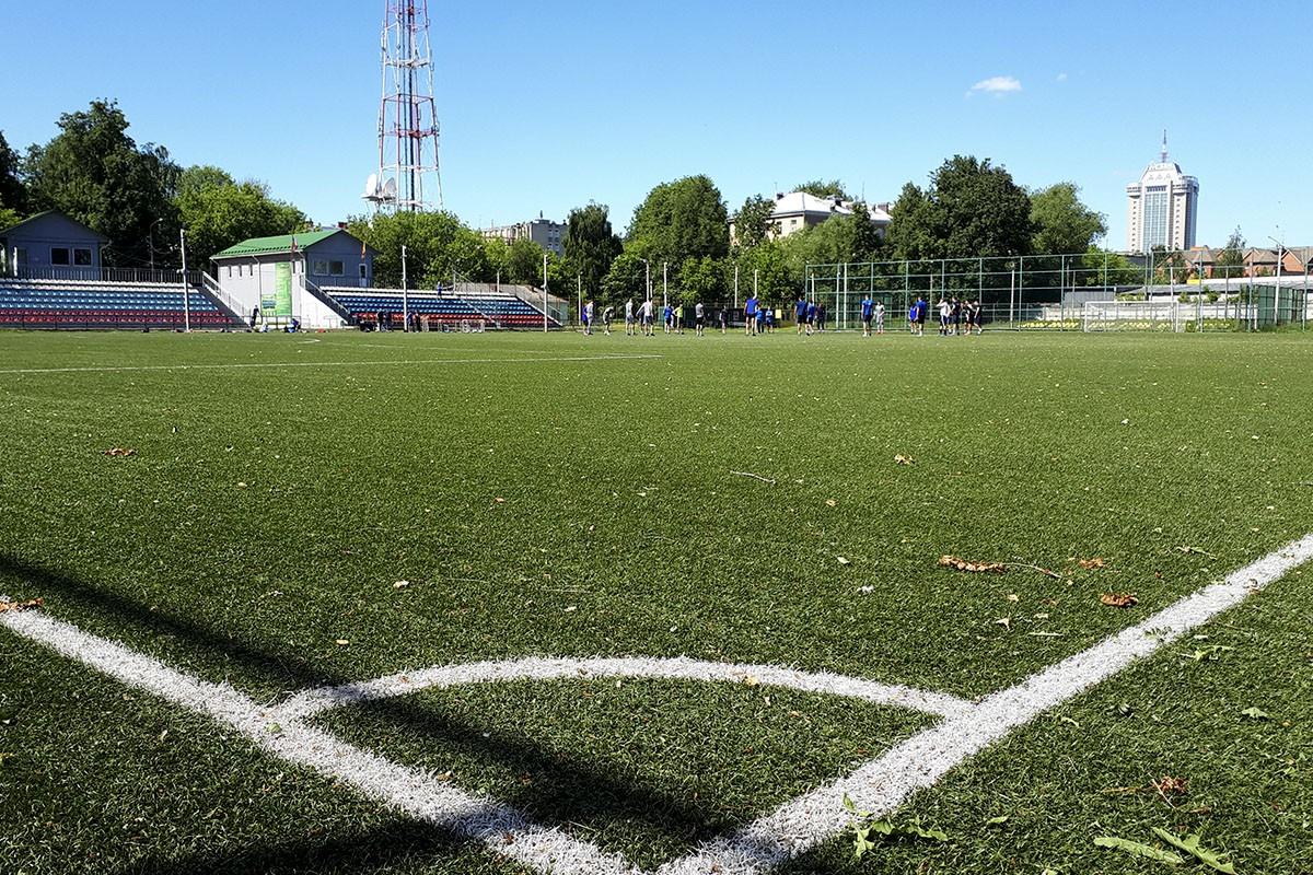 """Футбольный клуб """"Тверь"""" провел первую в своей истории тренировку"""