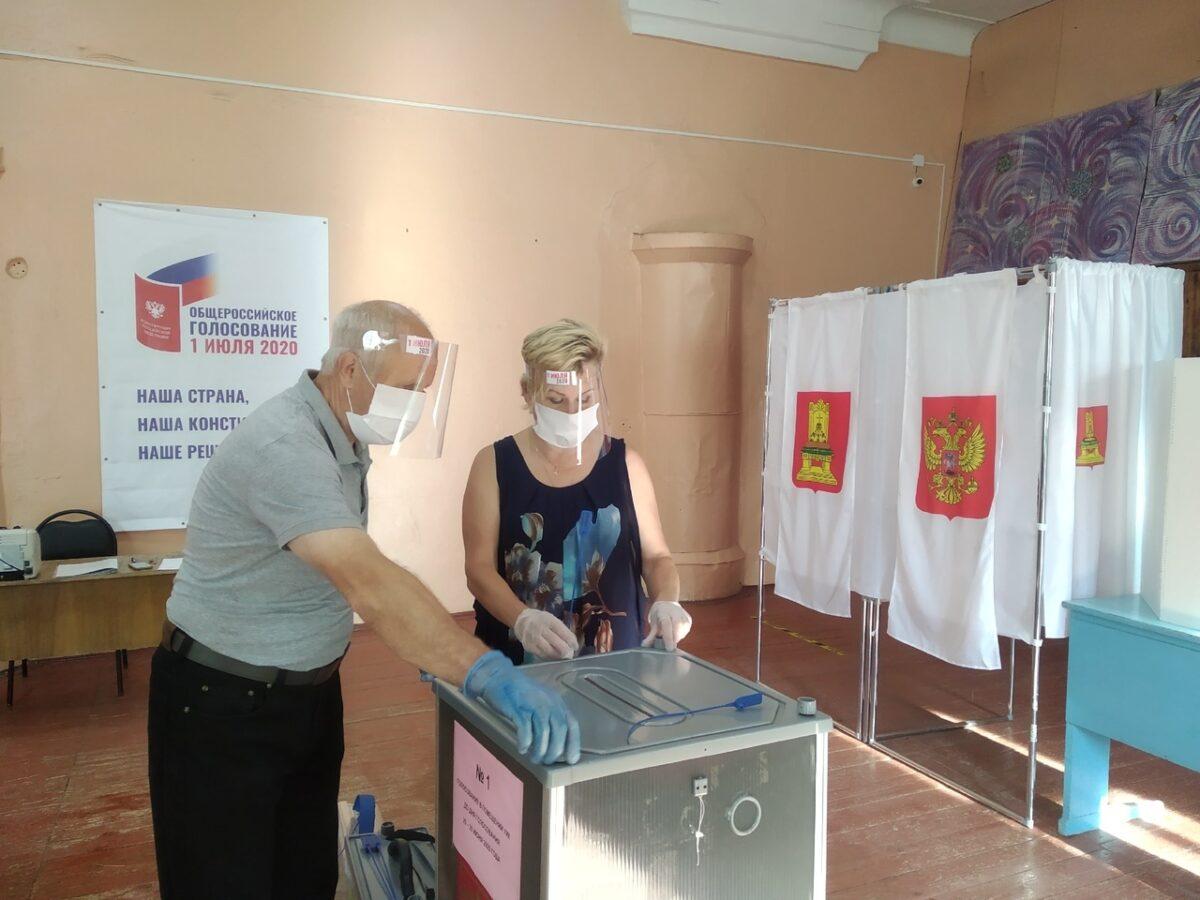 ТОП голосования: В Тверской области началось голосование по поправкам в Конституцию РФ