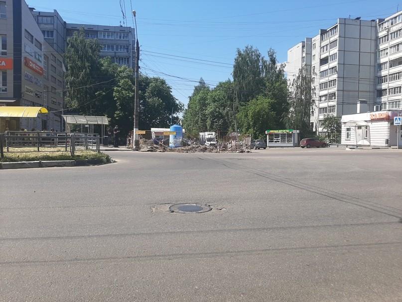 """""""Тверь Водоканал"""" устранил повреждения на участке от улицы Хромова до 1-го переулка Вагонников"""