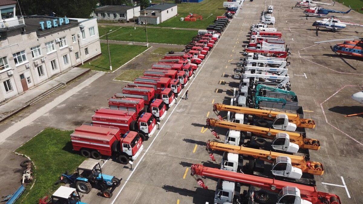 В Тверской области сотрудники МЧС подготовились к очень жаркому лету