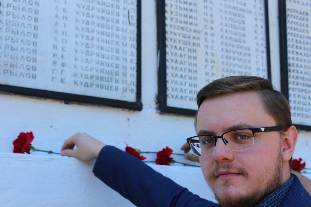 В Тверской области на домах ветеранов установили знамена Победы