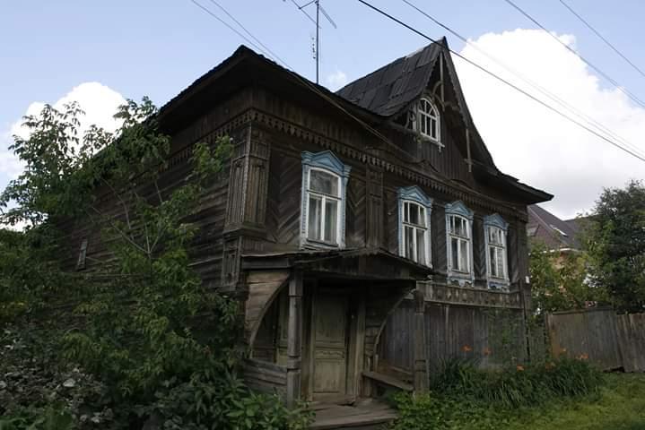 В Тверской области сгорел дом - памятник кимрского модерна