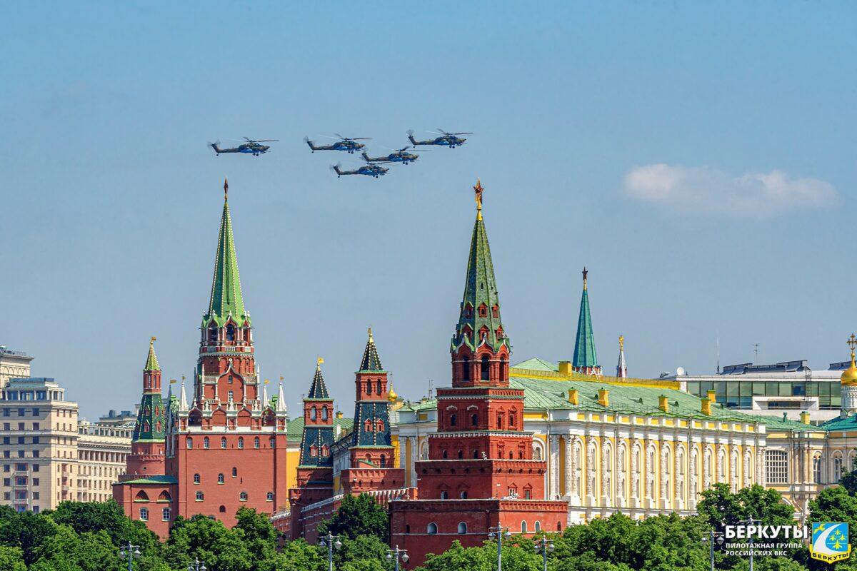 «Беркуты» из Тверской области готовятся взлететь над Красной площадью