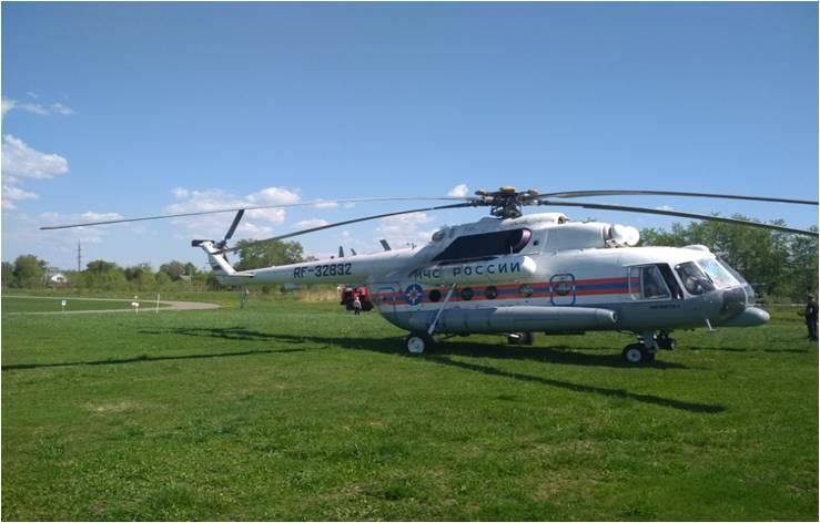 Жительнице Тверской области понадобилась срочная транспортировка вертолётом санавиации