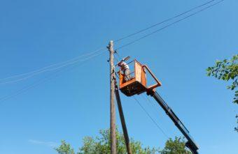 В Тверской области зажёгся фонарь, который не работал 6 лет
