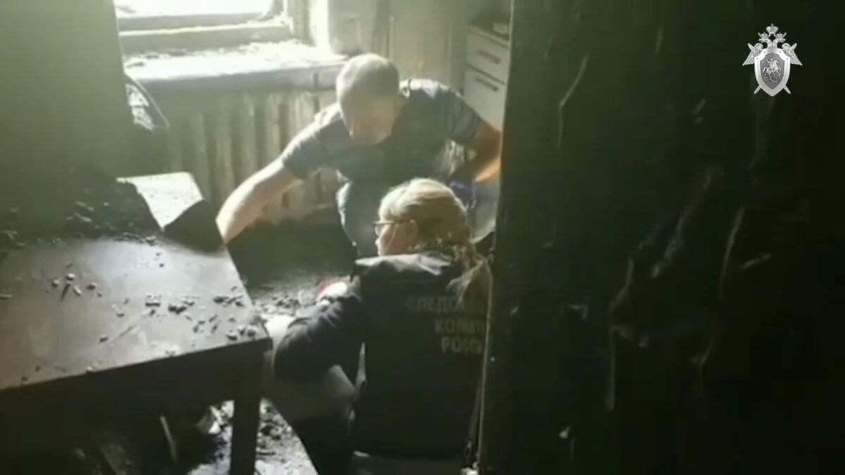 Опубликовано видео квартиры, где от хлопка газа погибла жительница Тверской области