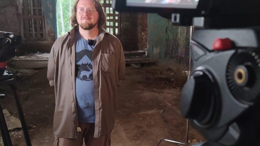 В Тверской области снимают фильм в заброшенных усадьбах