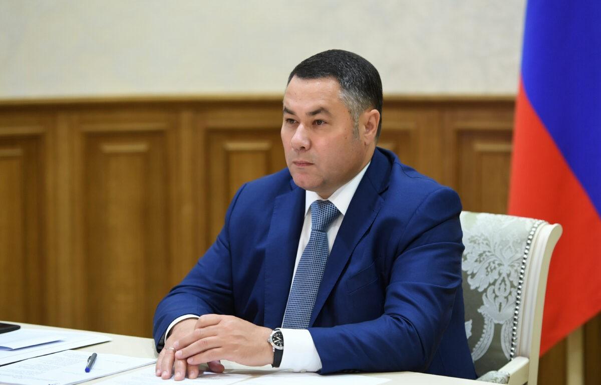 Губернатор на федеральном канале рассказал о выходе Тверской области из пандемии