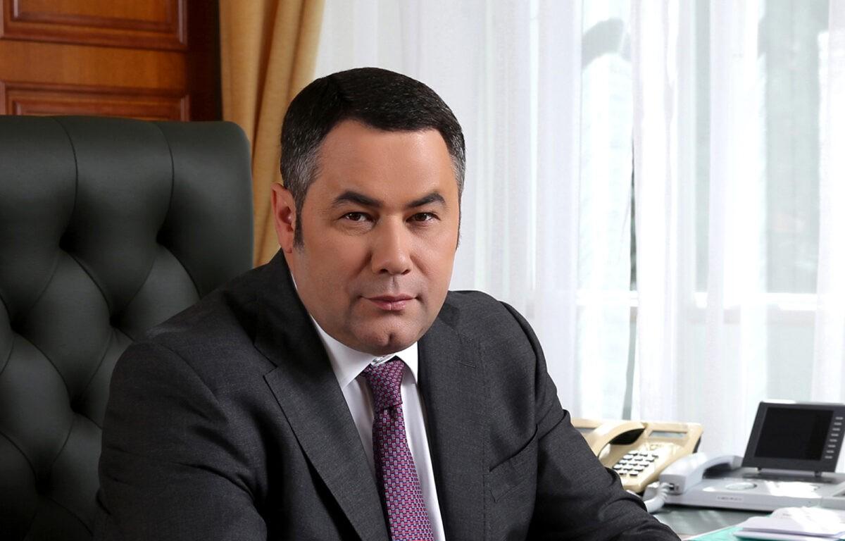 Губернатор Тверской области Игорь Руденя в пятый раз стал отцом