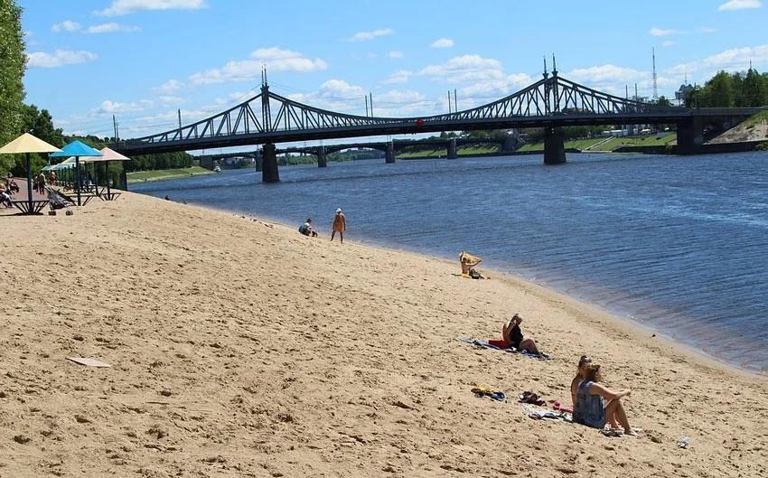 В Роспотребнадзоре рассказали, на каких пляжах в Твери безопасно отдыхать