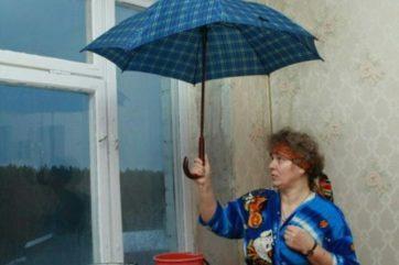Жительница Твери отсудила у ТСЖ ущерб, причиненный дырявой крышей