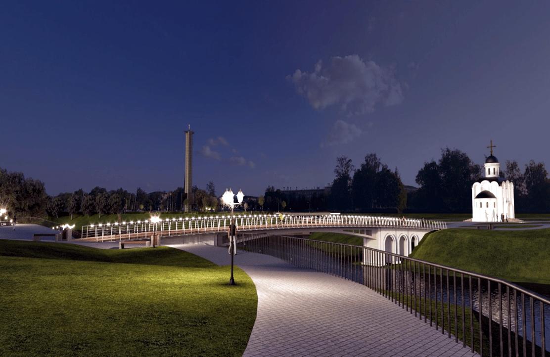 Жители Твери выбрали название для нового пешеходного моста через Тьмаку