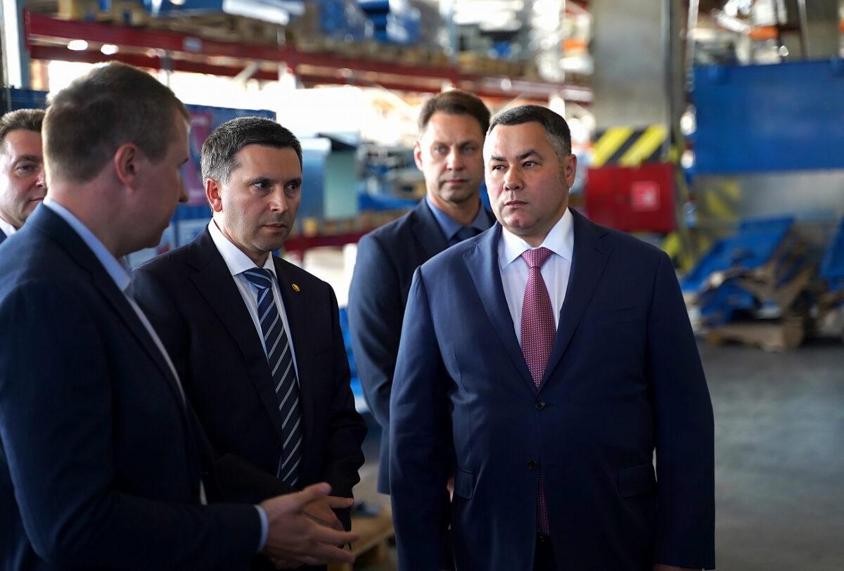 Министр Дмитрий Кобылкин отметил активность Тверской области в реализации нацпроекта «Экология»