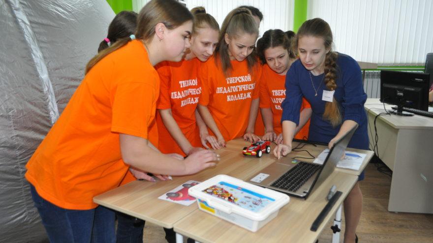 В Тверском педагогическом колледже лучшая в России «Команда Арт-Профи»
