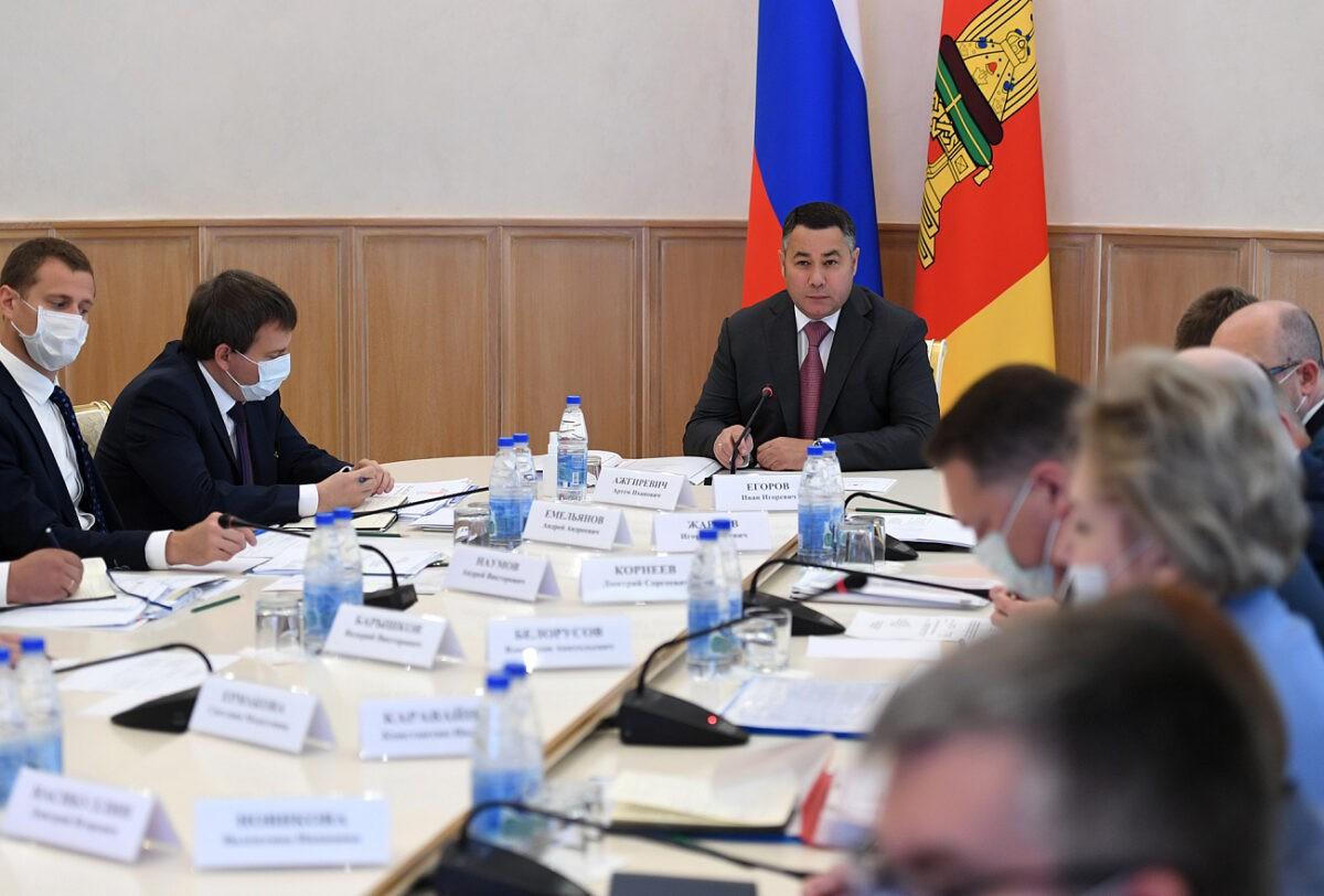 В Тверской области скорректируют нацпроекты в соответствии с президентскими установками