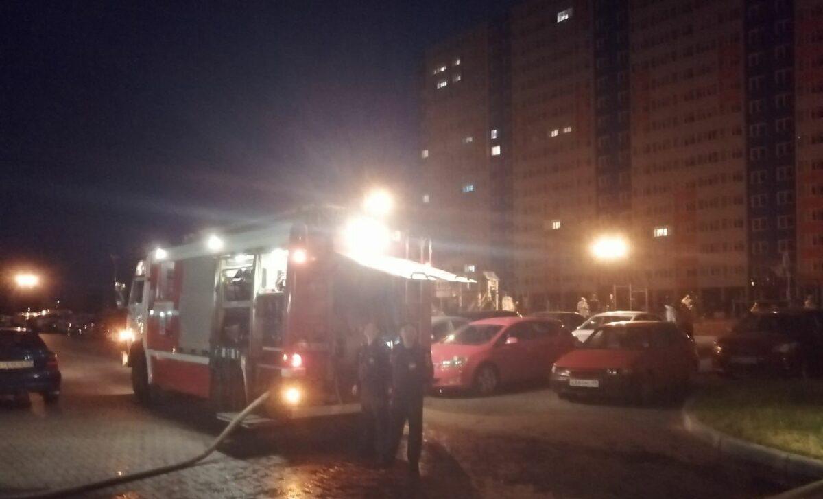 В Твери в жилом комплексе «Волга Лайф» произошел пожар