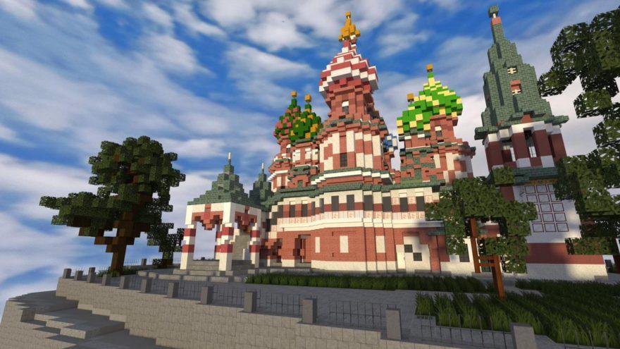 """В игре """"Minecraft"""" создали усадьбу из Тверской области"""