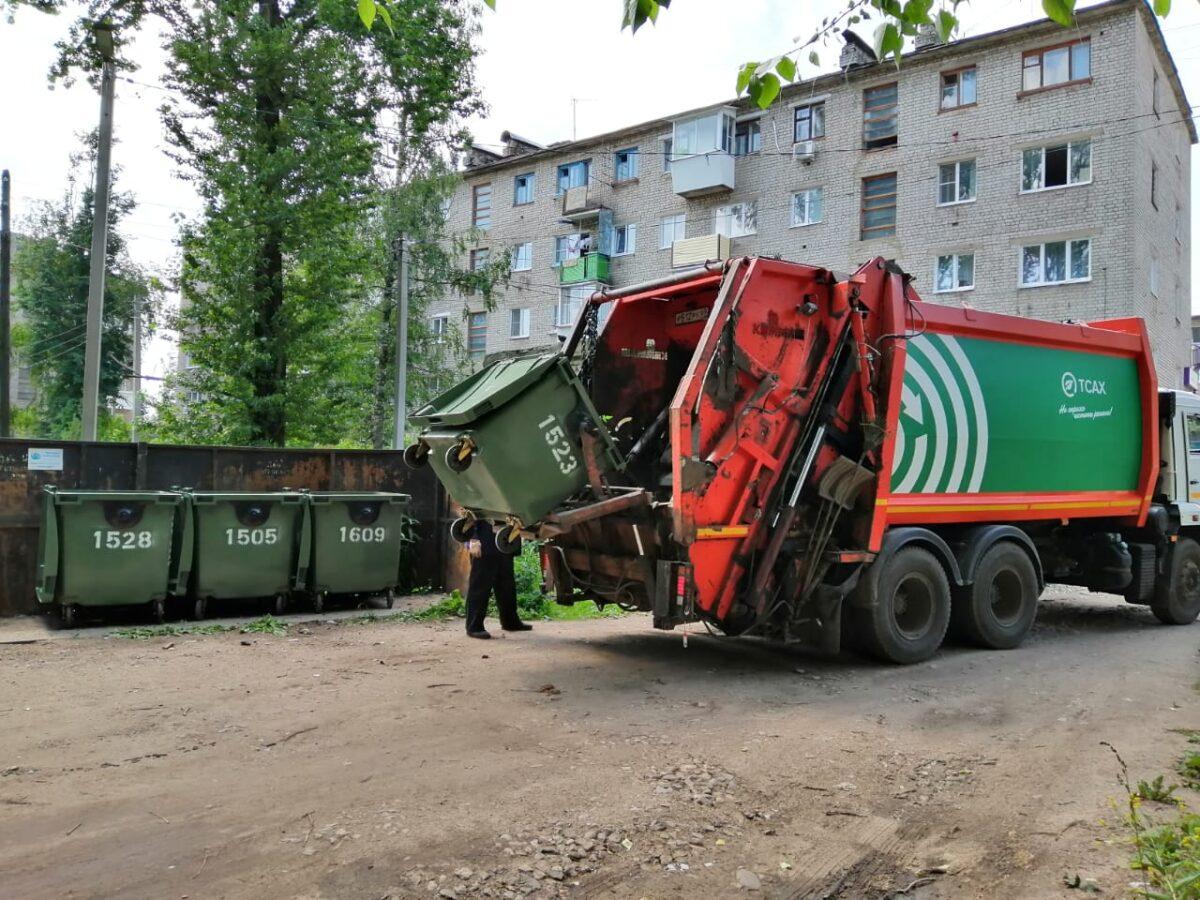 В муниципалитеты Тверской области направили более 4 тысяч новых контейнеров