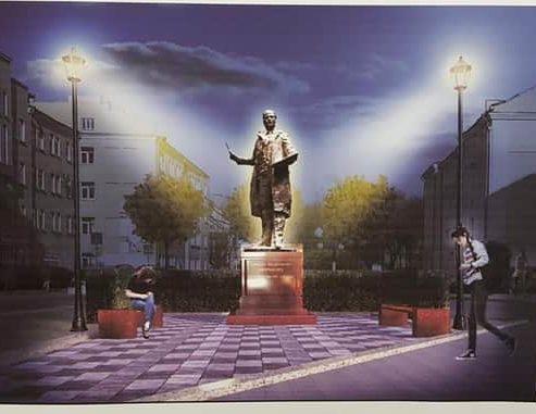 Опубликовано фото эскиза памятника художнику Ефрему Зверькову в Твери