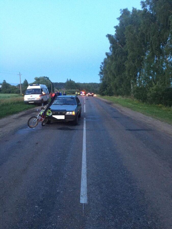 Ослепленный солнцем водитель насмерть сбил велосипедиста под Тверью