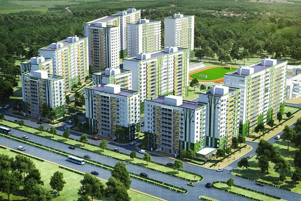 Почти 1000 домов построили в Тверской области за полгода