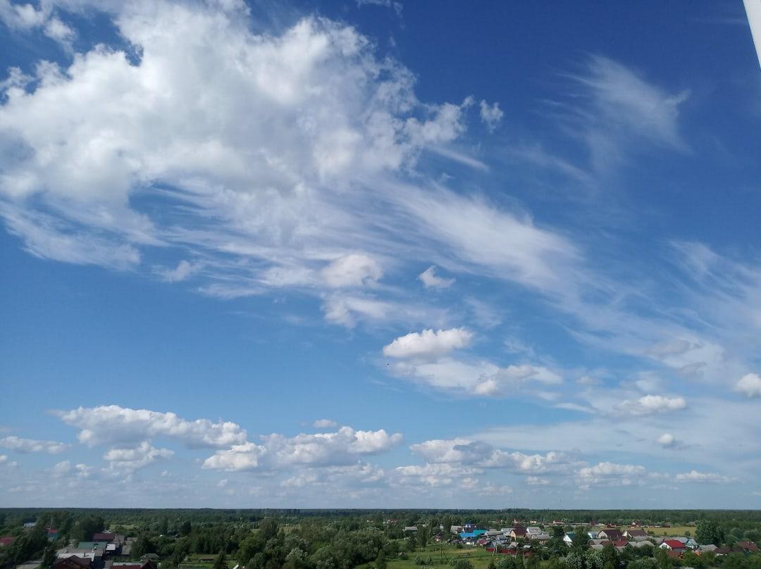Последние жаркие дни в Тверской области остались перед похолоданием