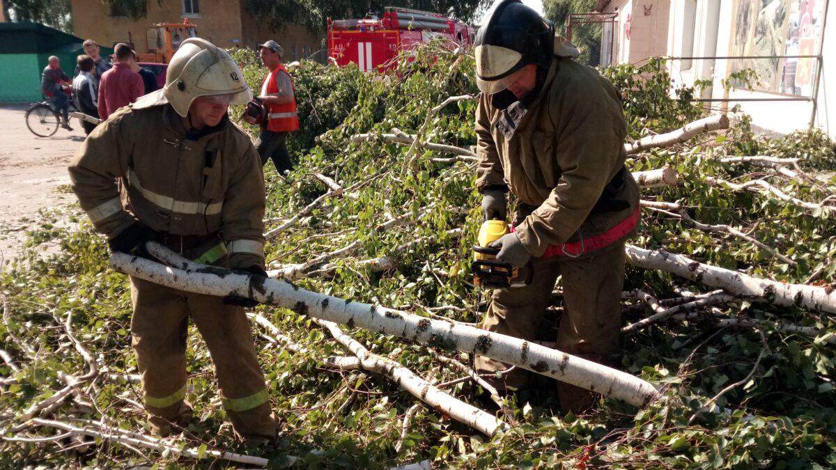 МЧС предупредило о новом урагане в Твери и Калининском районе