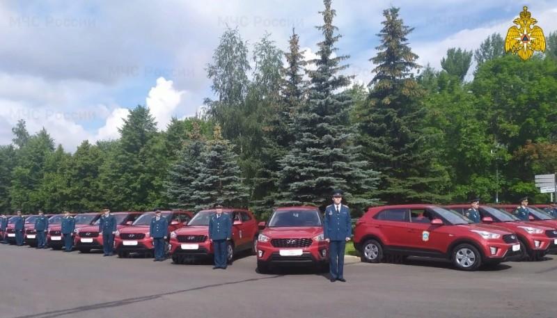 Спасателям из Тверской области вручили новые машины