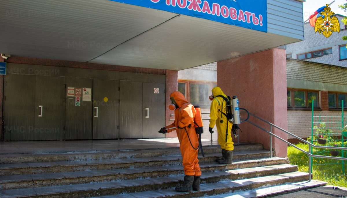 Перед началом ЕГЭ в Тверской области продезинфицировали школы
