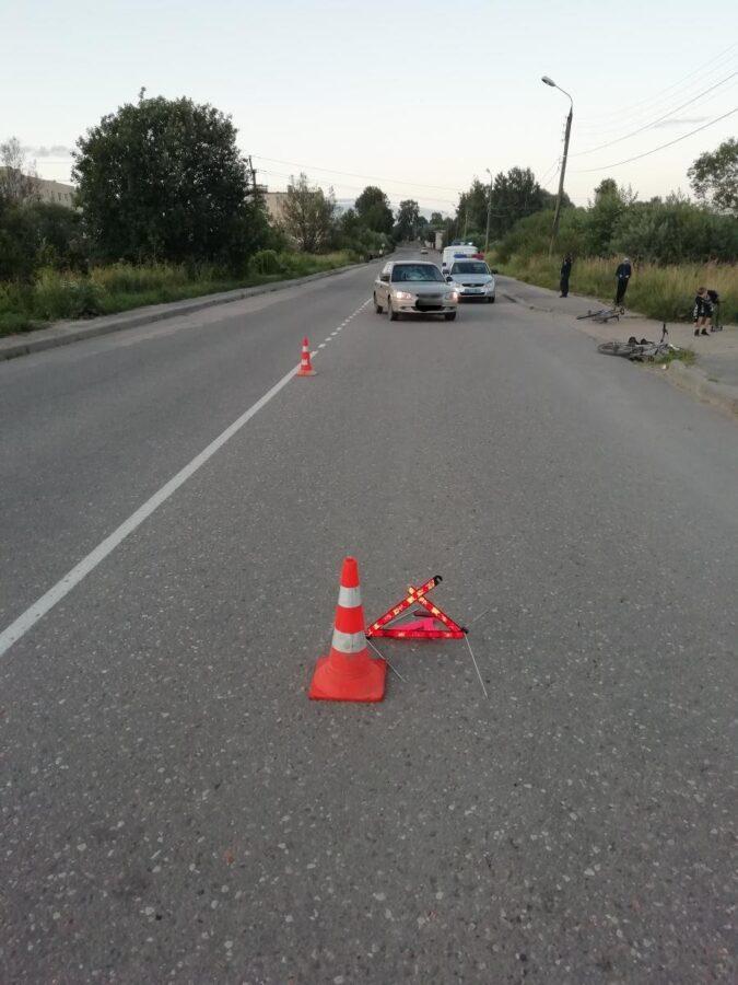 Ребенка на велосипеде сбили в Тверской области