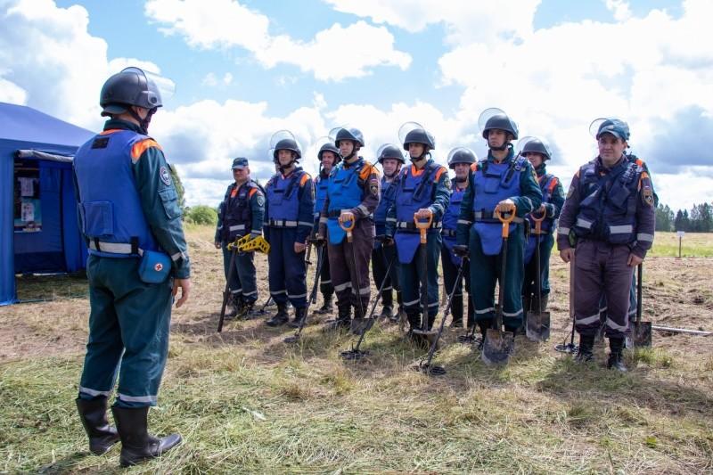Спасатели Тверской области обезвредили мины и нашли останки красноармейцев
