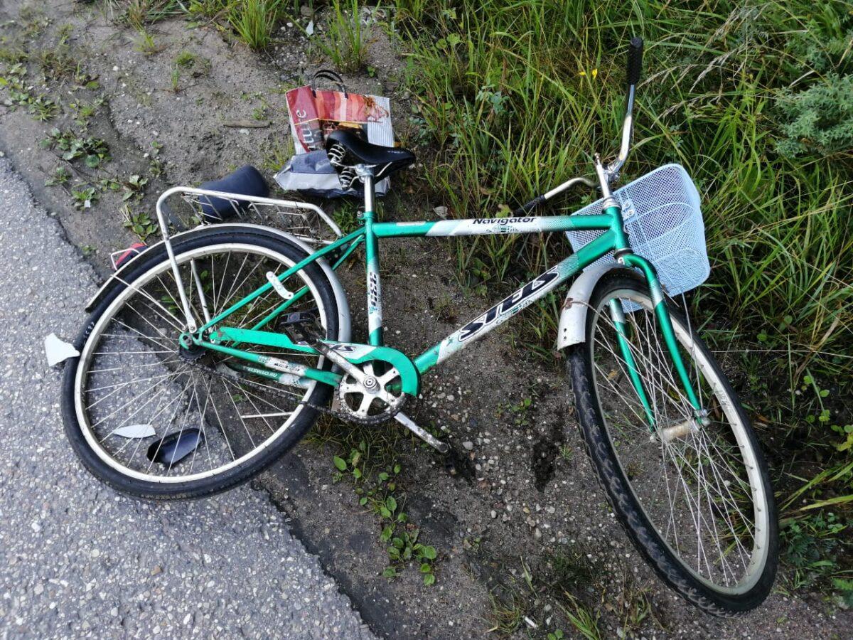 Трезвый водитель сбил велосипедиста в Тверской области