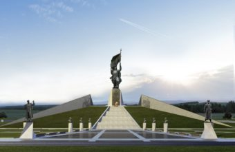 Скульптор показал, каким мог быть Ржевский мемориал в Тверской области