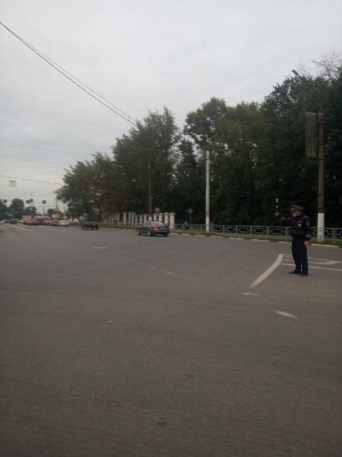 В Твери не работает светофор на съезде с Восточного моста