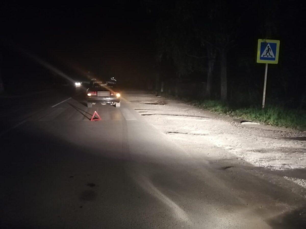 Водитель сбил на переходе 84-летнюю бабушку в Тверской области