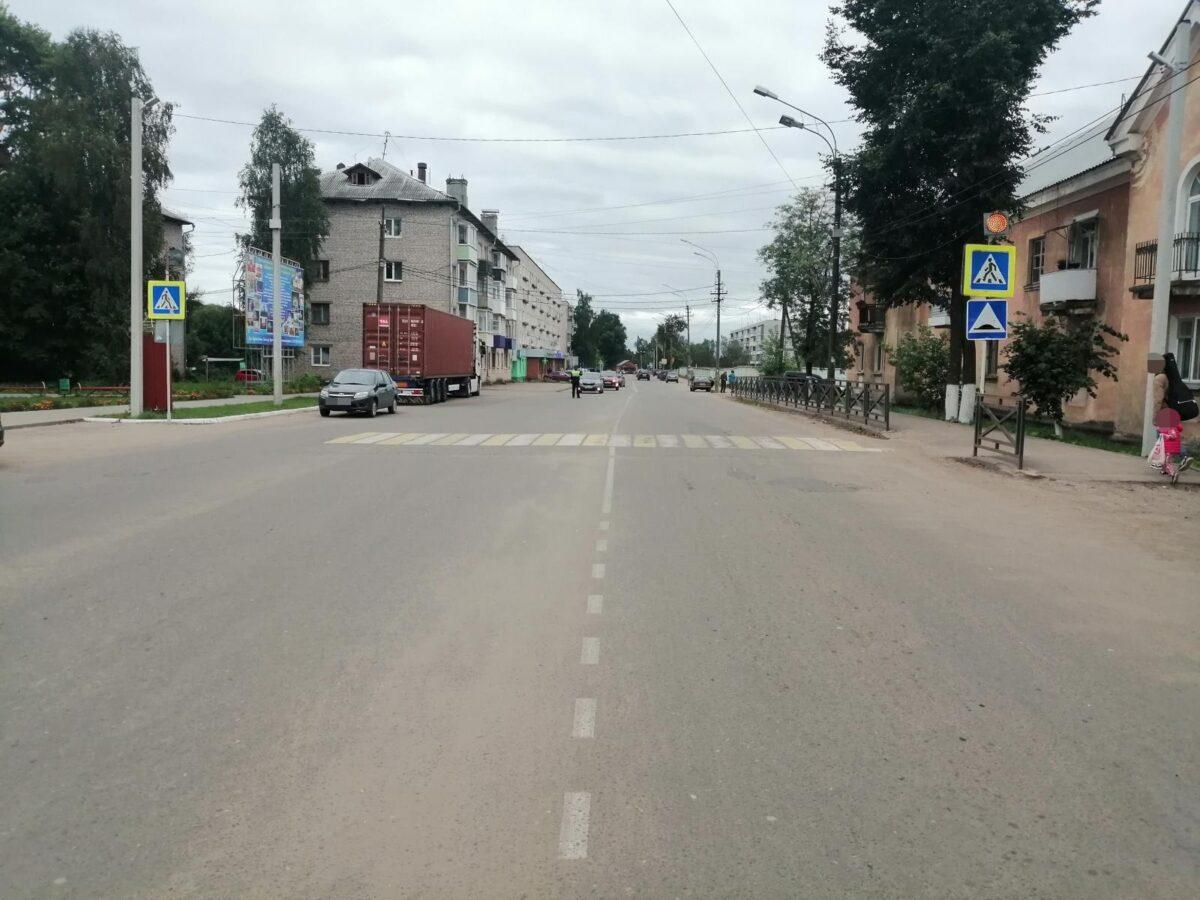 В Тверской области пожилой водитель сбил пешехода