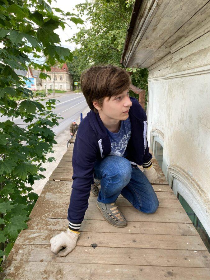 Главные парадные ворота старинной усадьбы открыли в Тверской области