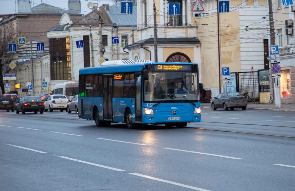 В Твери можно проехать в автобусе за 15 рублей