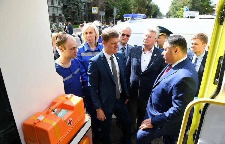 Андрей Белоцерковский: «Область поможет Ржеву модернизировать материально-техническую базу ЦРБ»