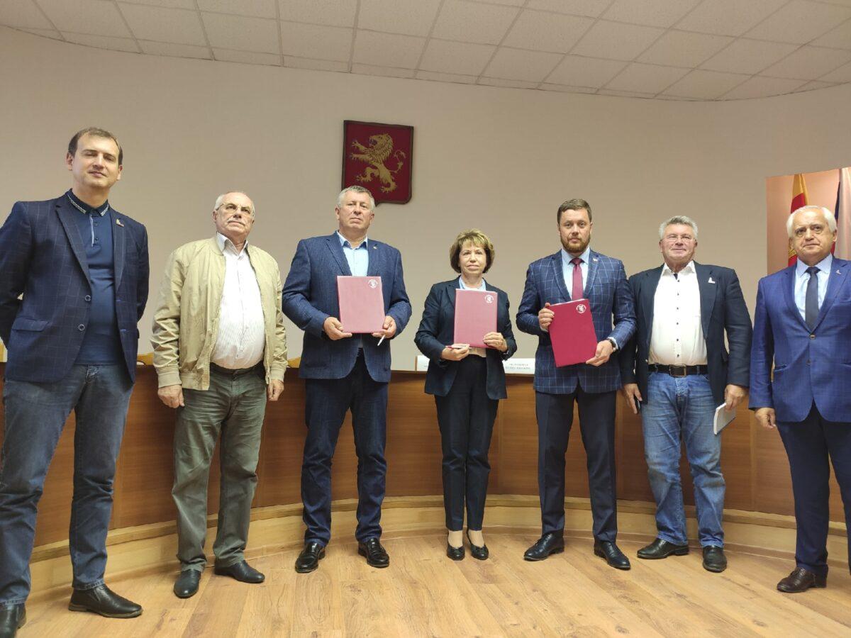 Ржев и Тверской госуниверситет подписали соглашение о партнёрстве