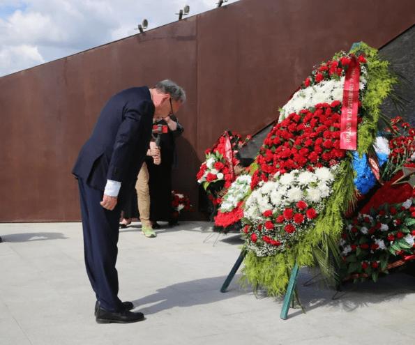 Ржевский мемориал в Тверской области посетила делегация из Якутии
