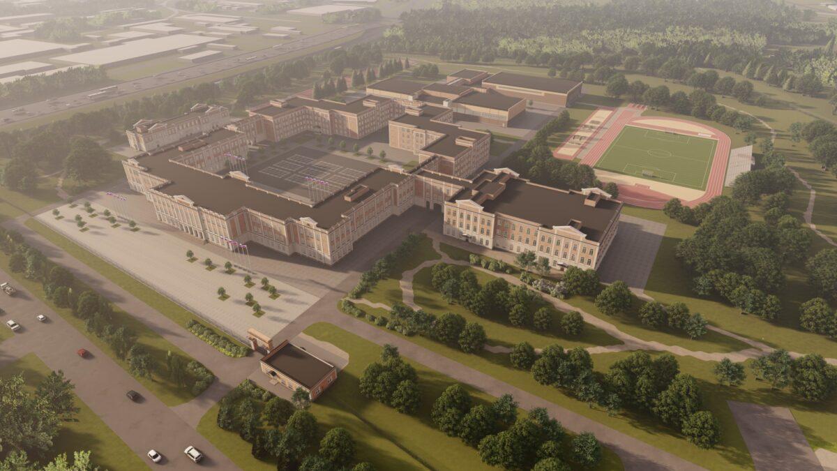 Новый корпус Суворовского училища в Твери поставили на учёт