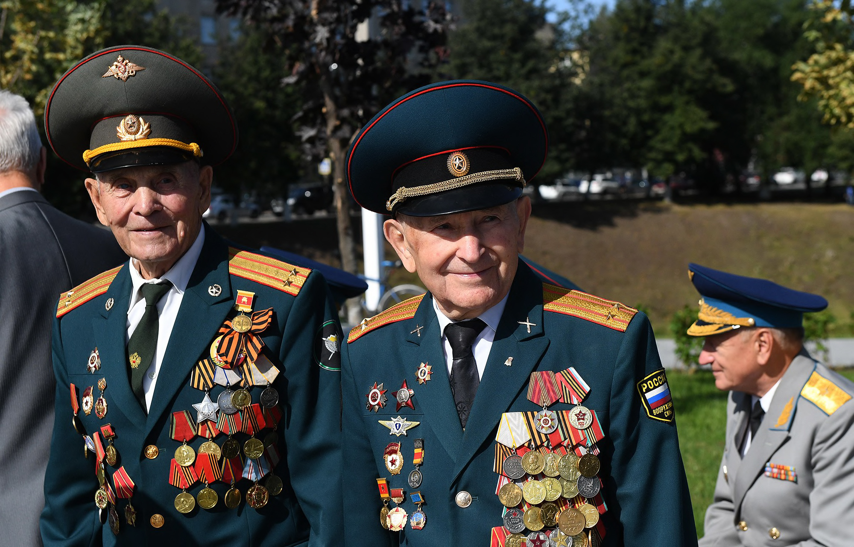 Фронтовик из Твери Иван Кладкевич празднует 96-й день рождения