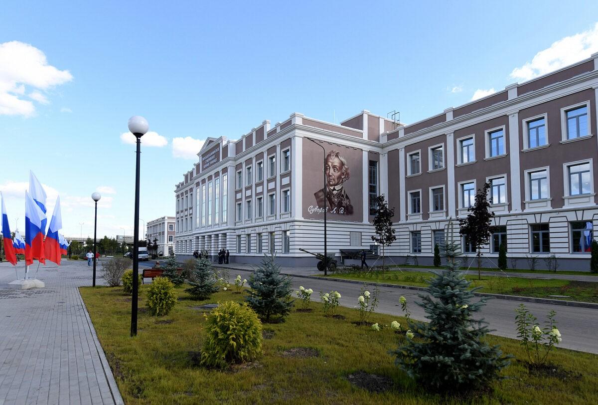 Новый комплекс суворовского училища в Твери откроют 1 сентября
