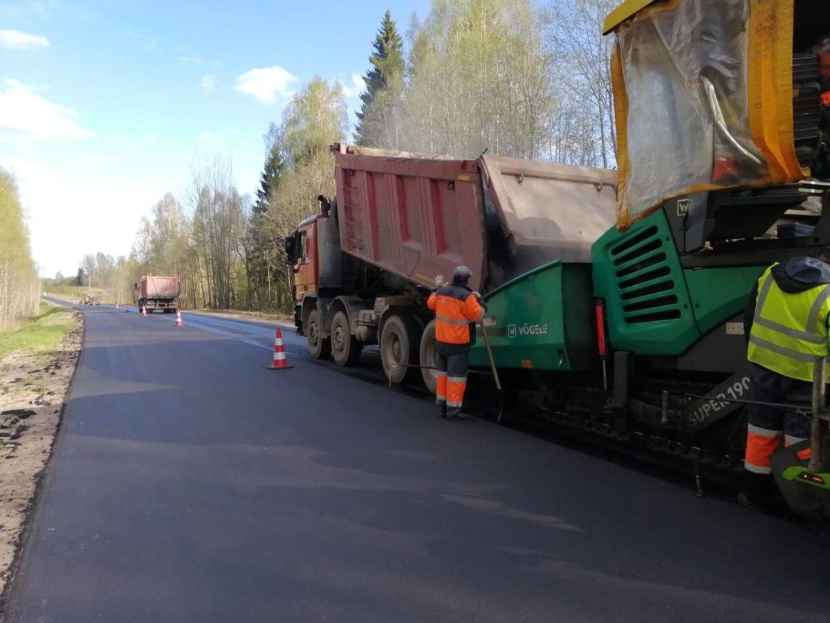 Дороги с интенсивным движением отремонтируют в Тверской области за 3 года